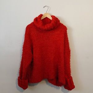 Holiday Thick Turtleneck Sweater